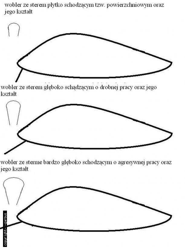 rodzaje sterów w woblerach