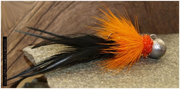 orange black