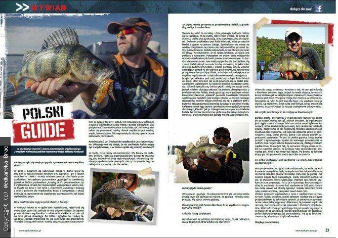 Wywiad z Garbusem w magazynie Wędkarska Brać