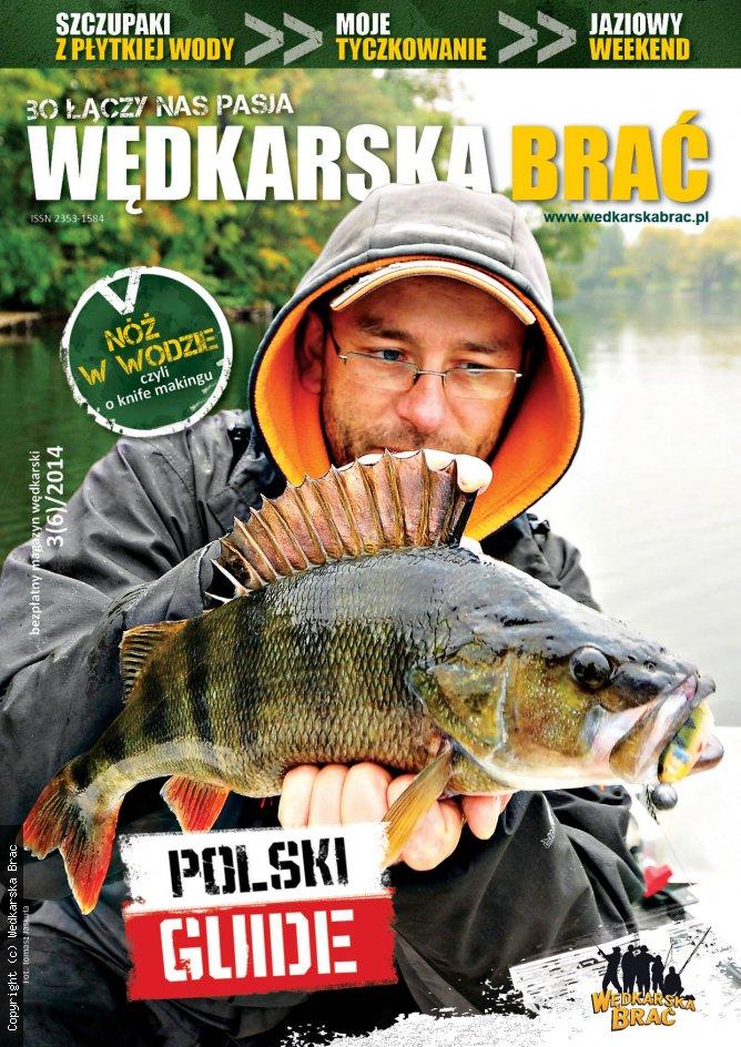 Okładka magazynu wędkarskiego Wędkarska Brać